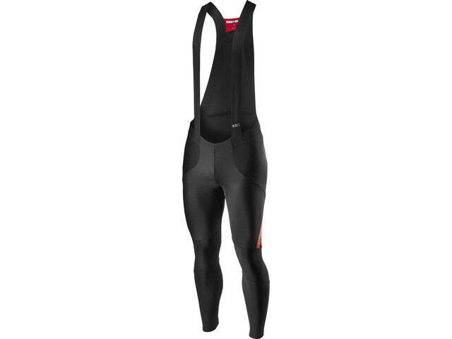 Castelli Sorpasso RoS Cuissard long Homme, black/fiery red